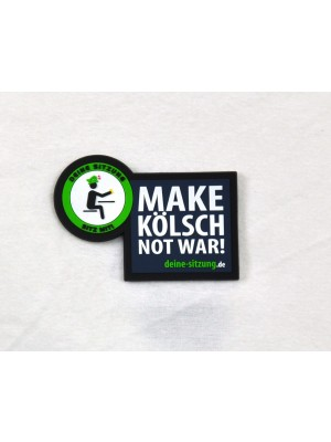 Magnet MAKE KÖLSCH NOT WAR!